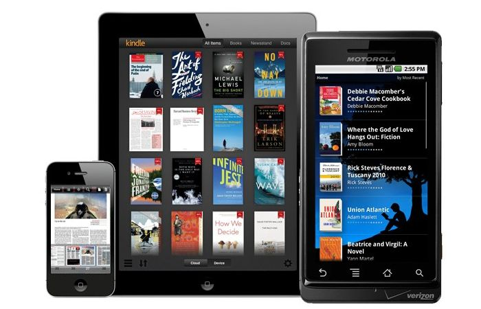 add epub to kindle app android