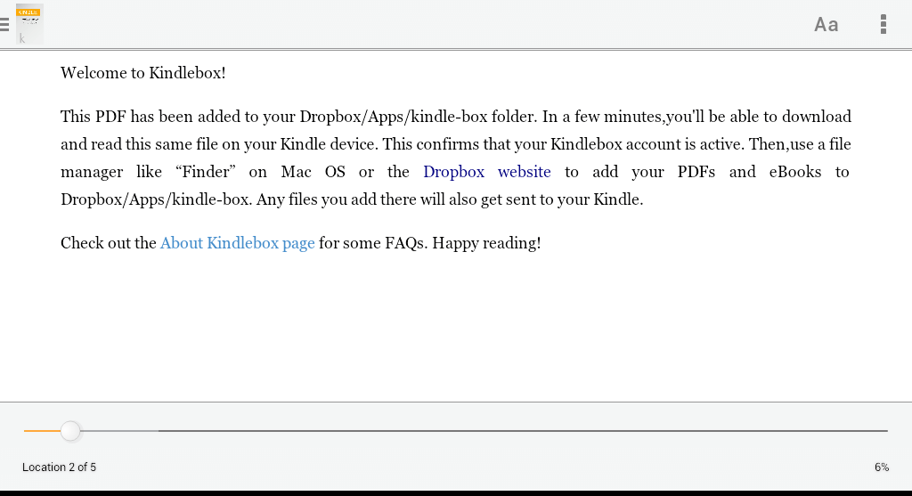 how to sync epub books to kindle