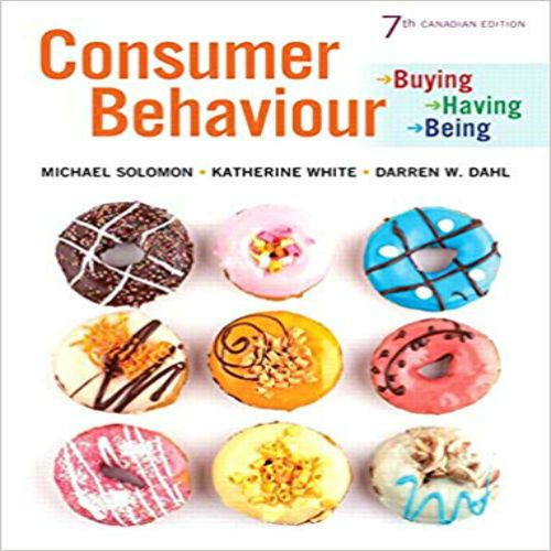 consumer behaviour buying having and being 7th canadian edition ebook